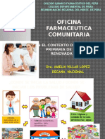 La Ofic Farmaceut Comunitaria en Apsr -Piura