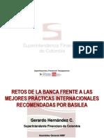 RETOS DE LA BANCA DE COLOMBIA