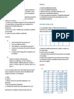 Estadística Descriptiva Ejercicios