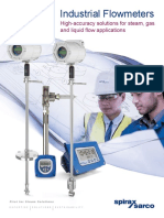 Flowmeter Product Overview