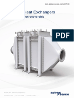 Heat Pipe Heat Exchanger-An Energy Recovery Solution-Sales Brochure