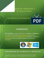 Explorador de Windows y Avances Tecnologicos