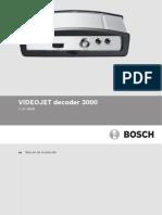 VJD 3000 IM Installation Manual EsES 12234737419