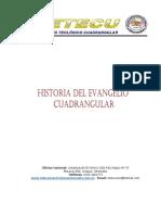 Historia Del Evangelio Cuadrangular