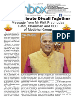 Motibhai Group Newsletter October 2017