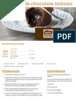 Coulants de Chocolate Intenso - Nestlé Cocina