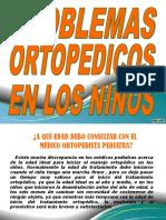 Carteleras de Ortopedia