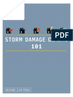 Storm Damage Claims 101 - Moore Law Firm