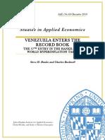 Venezuela Enters the Record Book