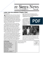 Winter 2008 Delaware Sierra Club Newsletter
