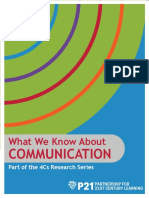 p21 4cs research brief series - communication