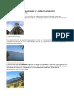Lugares Turisticos de Guatemala de Los 22 Departamentos