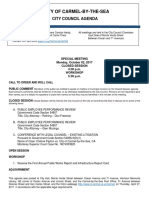 Agenda Special Meeting 10-02-17