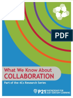 p21 4cs research brief series - collaboration