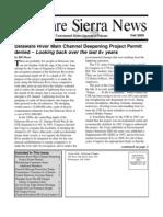 Fall 2009 Delaware Sierra Club Newsletter