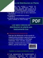 Tipos de Distribucion en Planta.desventajas. Ciclo II 2017