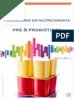 Formulário do Nutricionista - Volume 3 - Probióticos