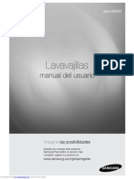 Manual Usuario Lavavajilla Samsung DMR57LFB