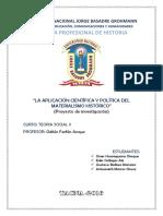 Proyecto Materialismo Historico Final