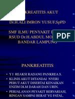 Pancreatitis Acute