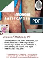sindrome antifosfolipido 2017