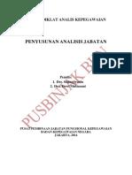 2. Penyusunan Analisis Jabatan
