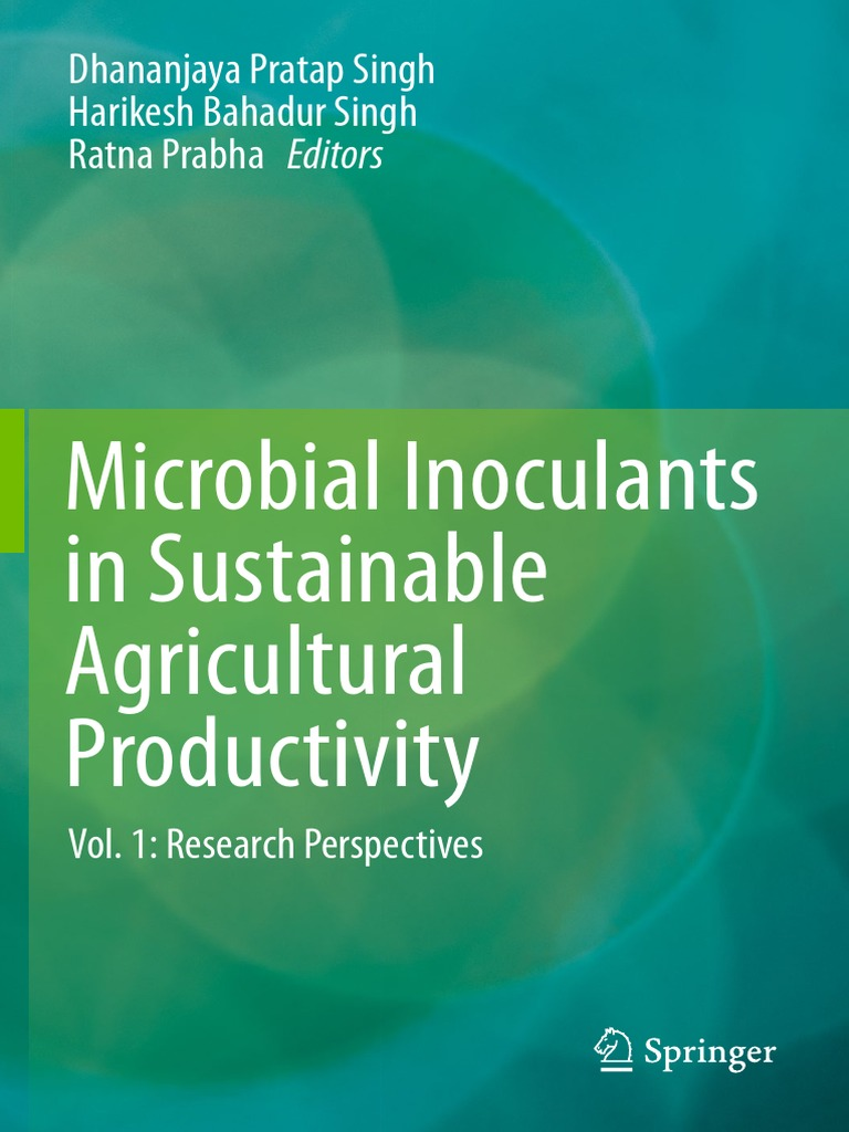 Microbial inoculants in sustainable agricultural productivity vol 1 microbial inoculants in sustainable agricultural productivity vol 1 bacteria ecology fandeluxe Choice Image