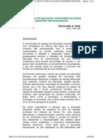 A pesquisa em Educação - Pontuando Algumas Questões Metodológicas.pdf