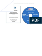Etiquetas de CD -Articulo de Opinion