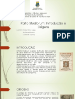 O Ensino Da Filosofia Na Colônia - Ratio Studiorum