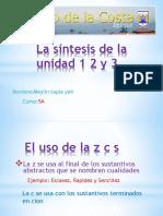 La Síntesis de La Unidad 1, 2 y 3