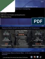 IBM Mobile Strategy - Steve Mills