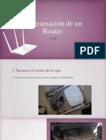 Programación de Un Router
