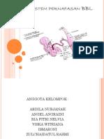 Adaptasi Sistem Pernafasan BBL