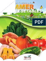Production Guideline for Summer Vegetables