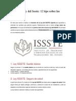 Resumen Ley Del Issste