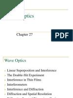 Wave Optics 1