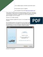 Configuración LogMeIn