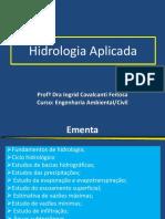 Fundamentos de Hidrologia e Climatologia
