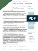 Modelo de Reclamação Trabalhista - Resenha - Laís de Oliveira