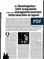 Articulo de Luc Montagnier