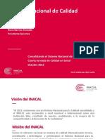 01 INACAL - Consolidando El Sist. Nacional de Calidad
