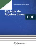 [8409 - 27410]Topicos Algebra Linear Unisul