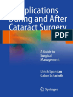 Ulrich Spandau, Gabor Scharioth Auth. Complications During and After Cataract Surgery a Guide to Surgical Management