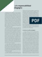 """La Docencia y La Responsabilidad Política y Pedagógica"""""""