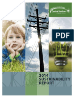 Central Hudson Sustainability Report 2014
