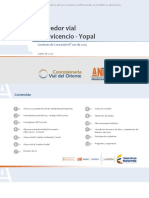 Proyecto Corredor Villavicencio -  Yopal