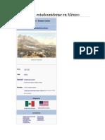 Intervención Estadounidense en México