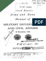 Field Manual 27-5