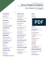 Revere Chamber Member Directory AUG 2010